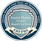 American Board of Facial Plastic and Reconstructive Surgery logo.