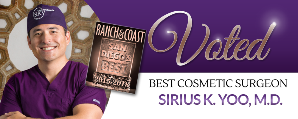 Voted Best Facial Plastic Surgeon in San Diego by Ranch & Coast Magazine