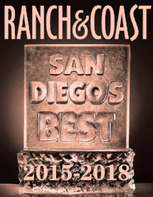 Named Best of San Diego