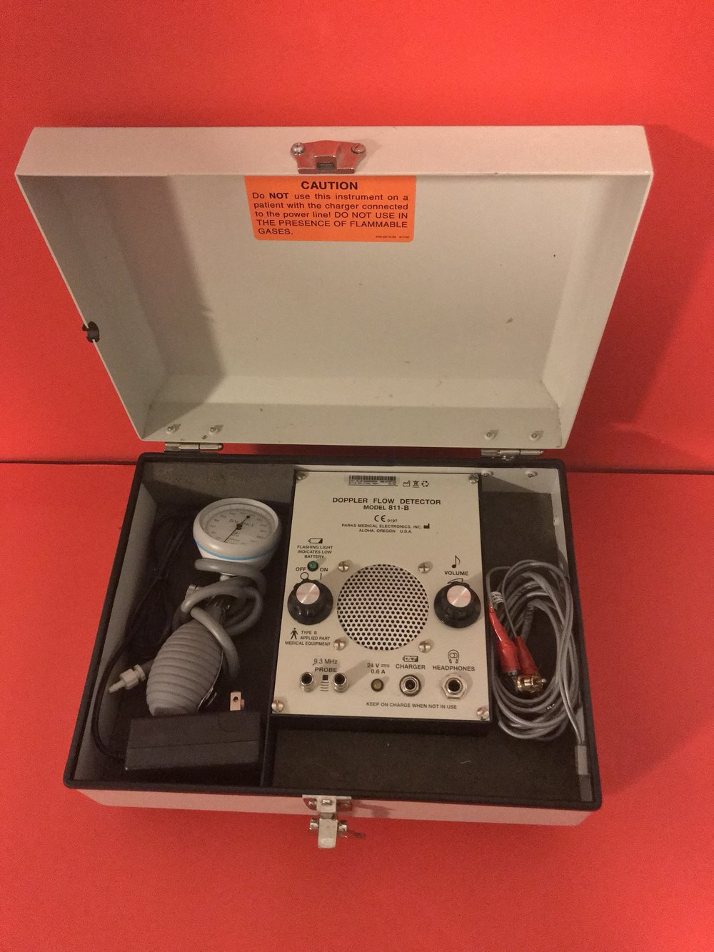 Sold 420 Sold M 97 Parks Ultrasonic Doppler 811 B Infant