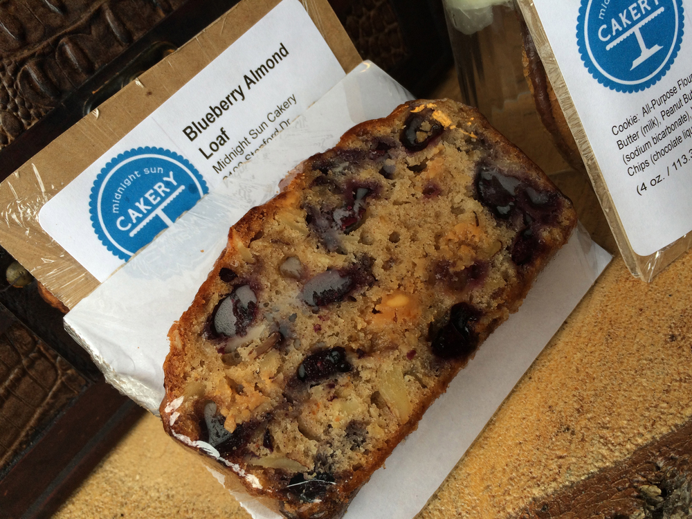 Blueberry Almond Loaf