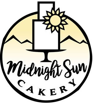 Midnight Sun Cakery/ Custom Wedding Cakes