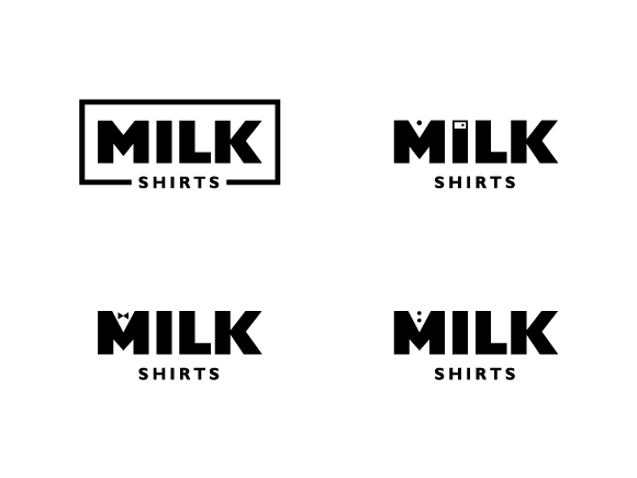 milk shirts past iterations