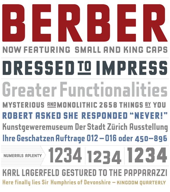 berber font