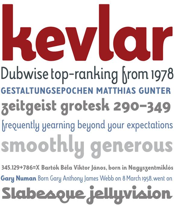 kevlar font