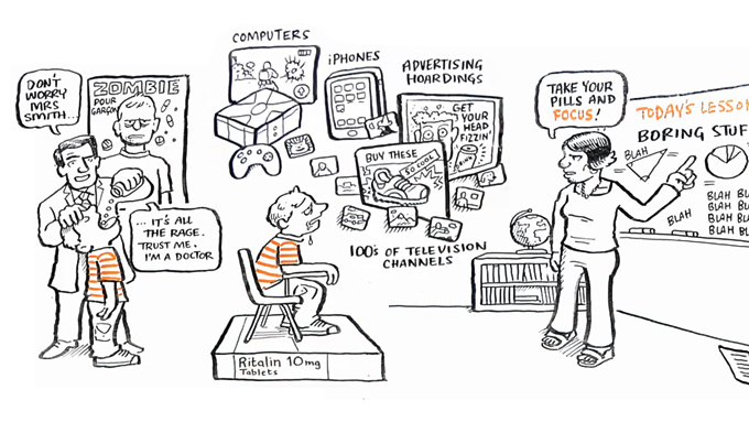 Schools kill creativity