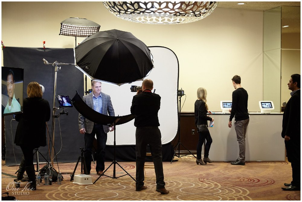 Conference Headshots at Sheraton Centre Toronto | One Tree Studio Inc.