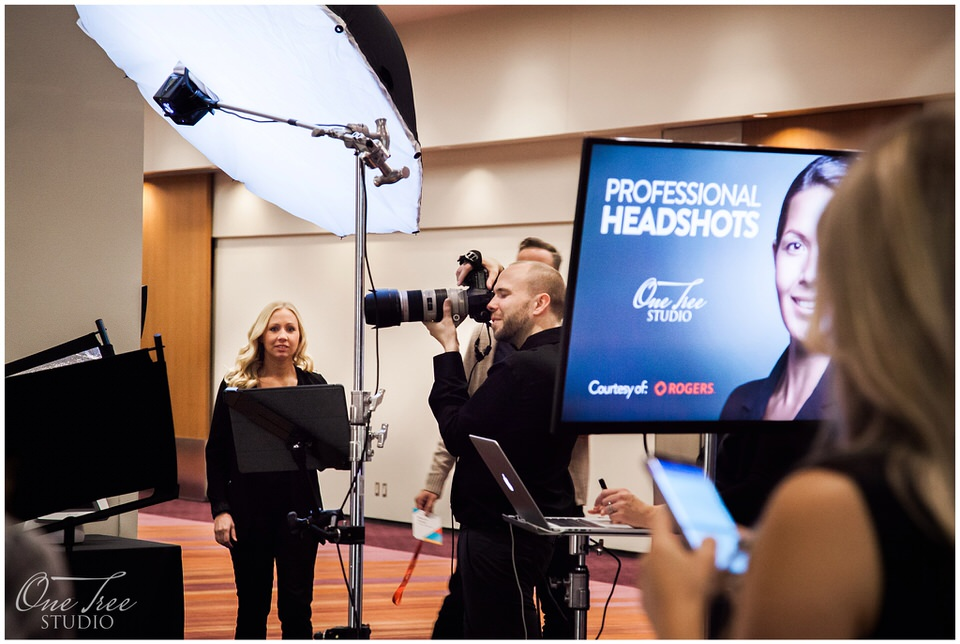 Conference Headshot Photographer Toronto | Metro Toronto Convention Centre | One Tree Studio Inc.