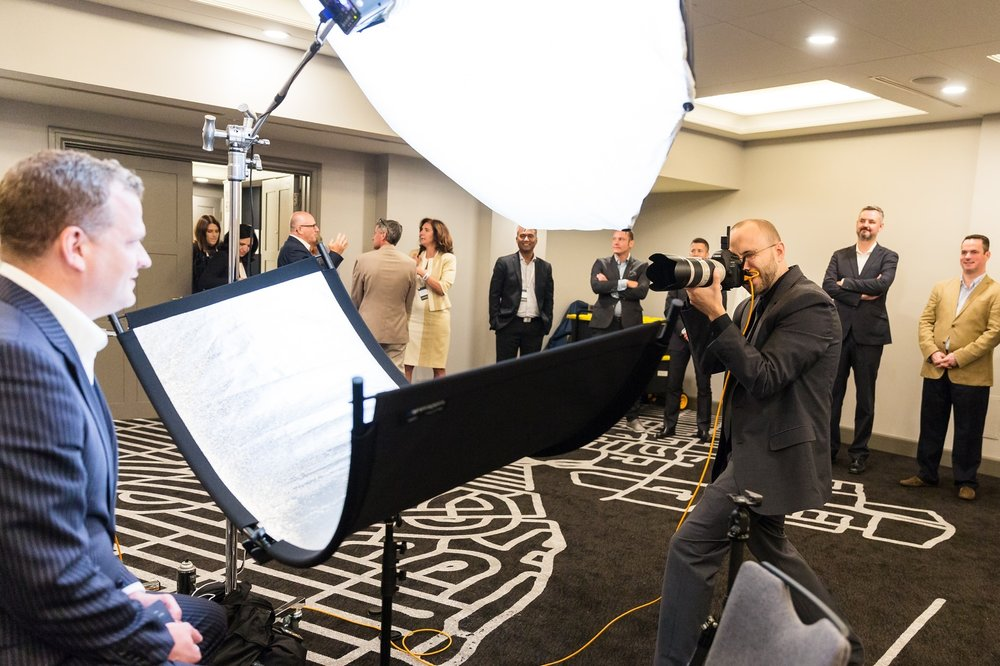 Headshots for Hundreds  - Perfect for Conferences