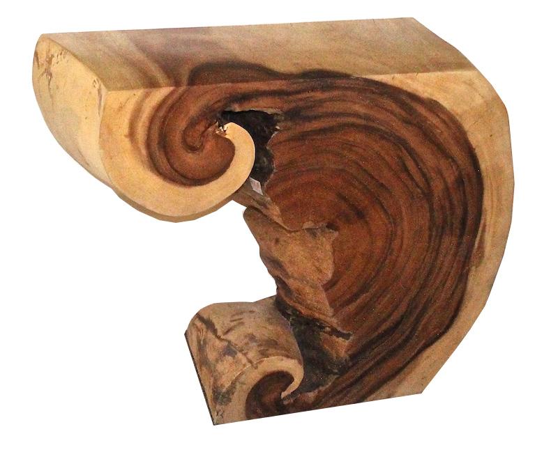 Acacia Wood Console   36×15.5×29h   AX041