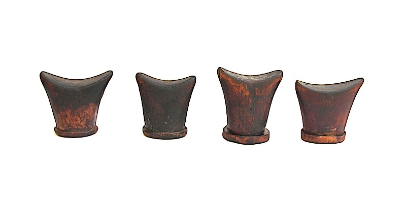 Antique Headrest, Ethiopia   6×3.5×6h+/-   AF127