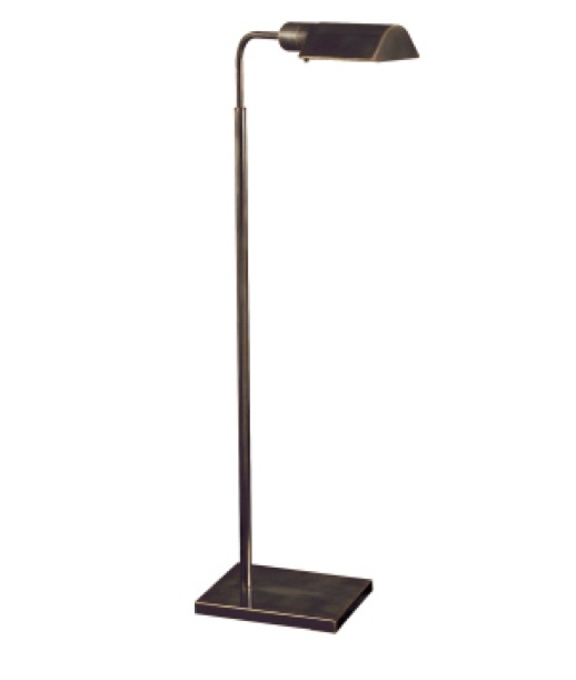"Studio Adjustable Light Floor Lamp in Bronze   34""-45""   VC91025BZ"