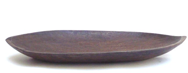 Vintage Wood Plate, Mentawei Islands, Indonesia   32×17×4h   BTPM14