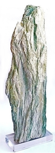 Fuchsite on Acrylic Base   9×4.5×28h     FOS336AA