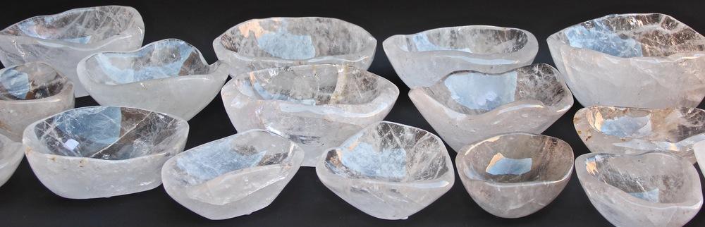 Rock Crystal Bowls