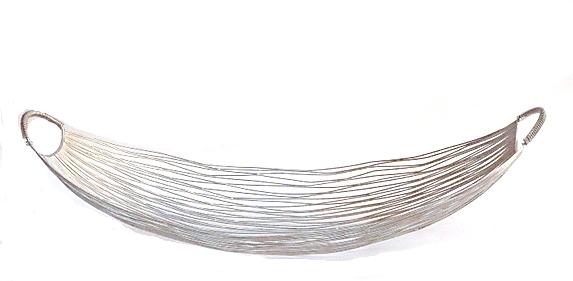"Wire Gondola Boat Basket   31×12×8.5""h   LN559003"