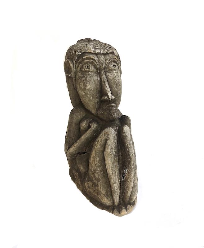 Teak Sculpture, Indonesian
