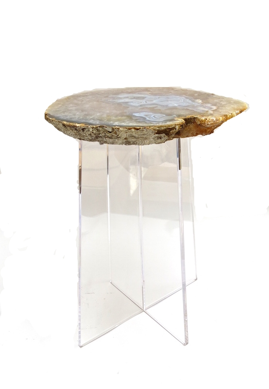 Agate/Acrylic Spot Table