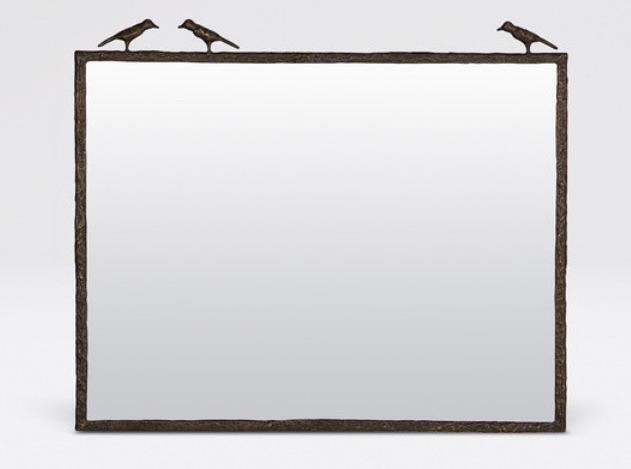 3 Sparrow Horizontal Mirror Bronze