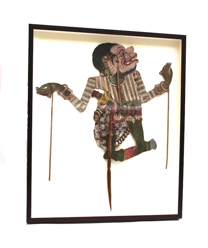 Thai Leather Puppet, Framed   27×32   QI026AA