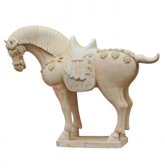 Tang Horse, Terra Cotta Reproduction  18x7x15h  EY1867BU