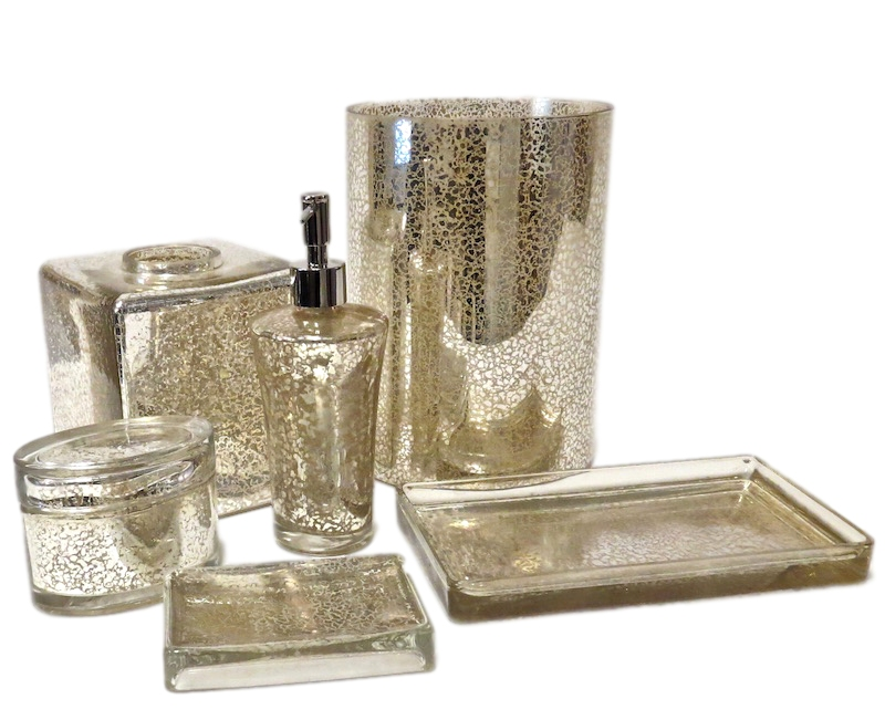 Gold Veined Glass Collection