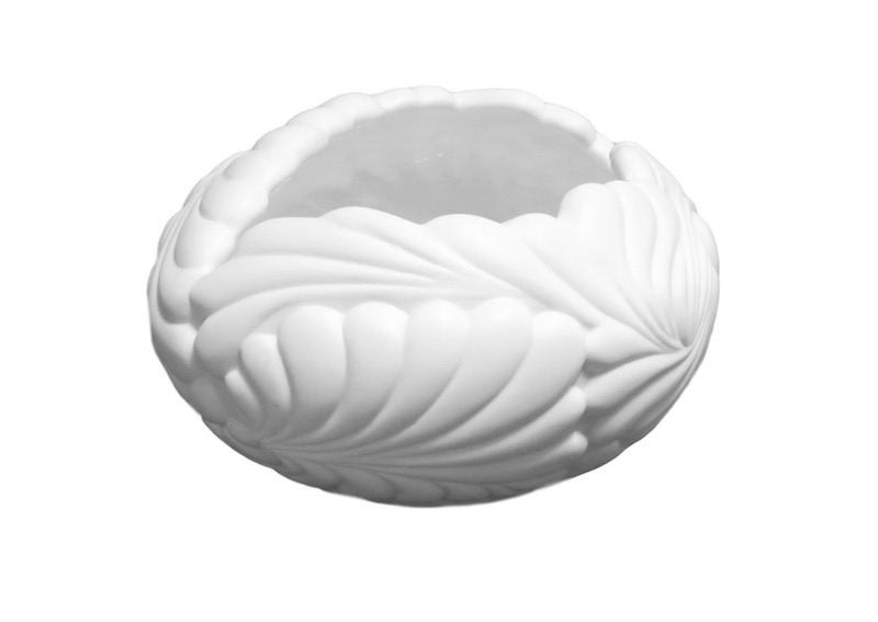 "Porcelain Flamingo Bowl  7x4""h  BUPFMV"