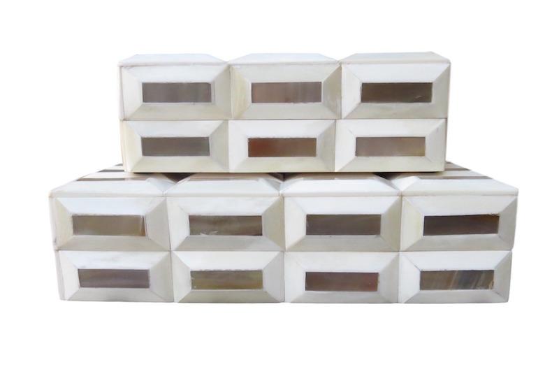 Bone/Horn Bar Box 9.5x6.5x3h BIJ139S 12.5x9.5x3.5h BIJ139L