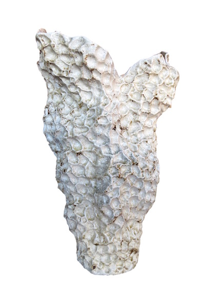 Ceramic Freeform Reef Vase  16x13.5x24h  GV7.10168