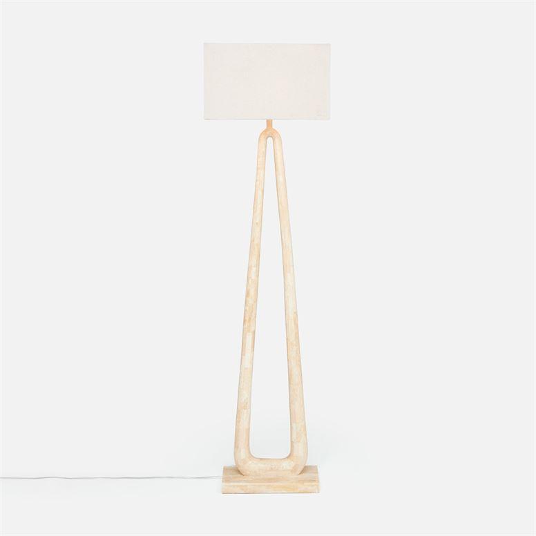 Woodstone Floor Lamp   20x14x76h   MGWELDN