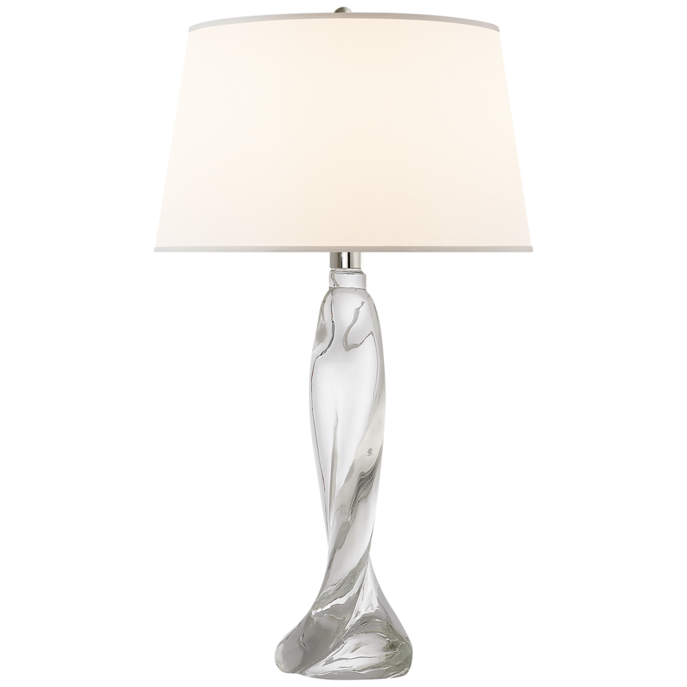 "Chloe Crystal Table Lamp   17dx30""h    VCSK3901CG-S"