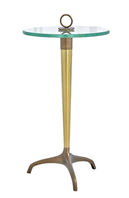 Tripod Table with Loop Handle  12Dx19.5H  GV9.93152