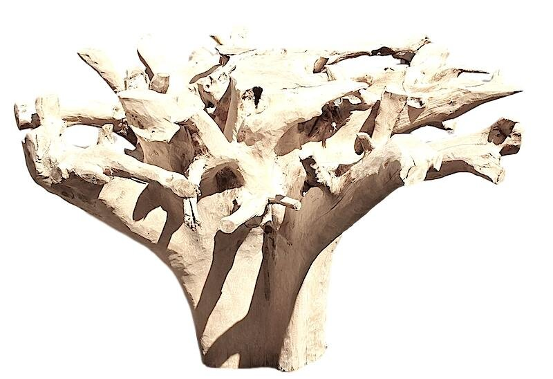 Tables Accessory Preview Inc - Teak root dining table base