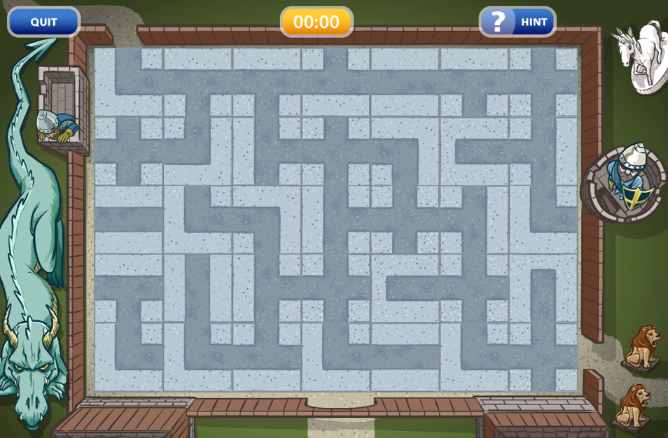 Highlights Maze Puzzle