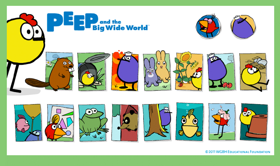 Peep and the Big Wide World Website