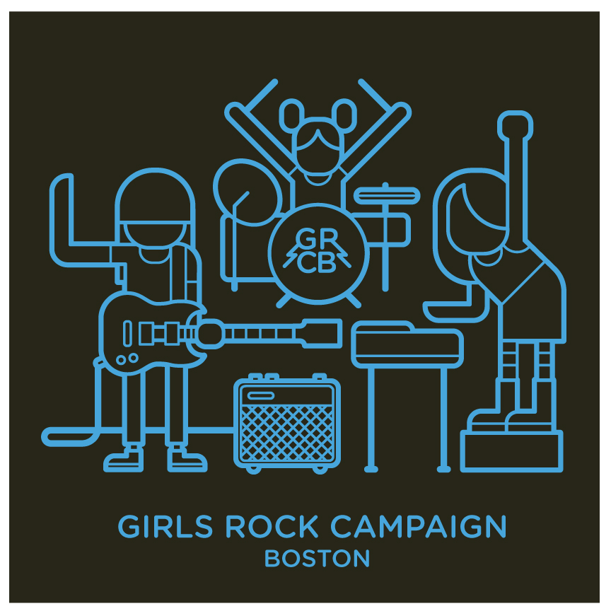 T-shirt | Girls Rock Boston