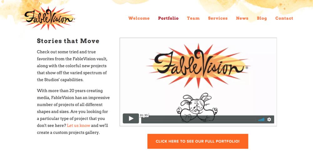 Fablevision Portfolio