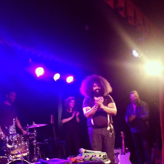 Reggie Watts AKA Reggie & Karen AKA Boris Falconhoof