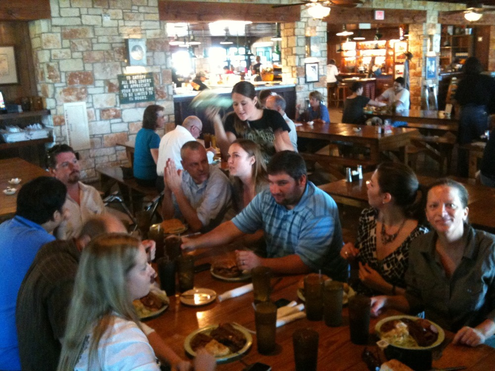 Lunch @SaltLick #SocialMediaGrubClub #meatup