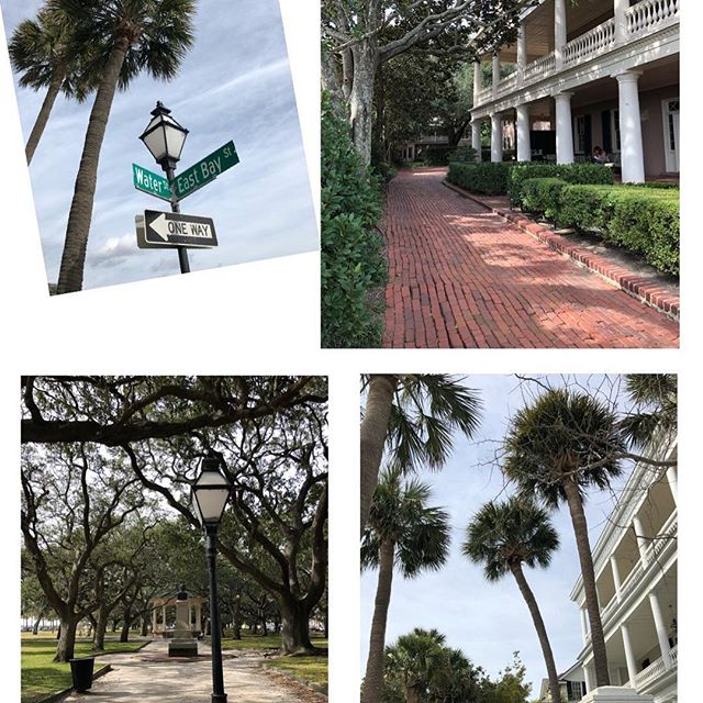 Vacationing in historic #Charleston, SC - very nice! 😍