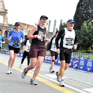 Maratona di Roma - near the finish line!