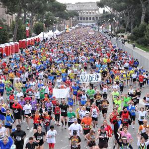 Maratona di Roma - at the start of the race!