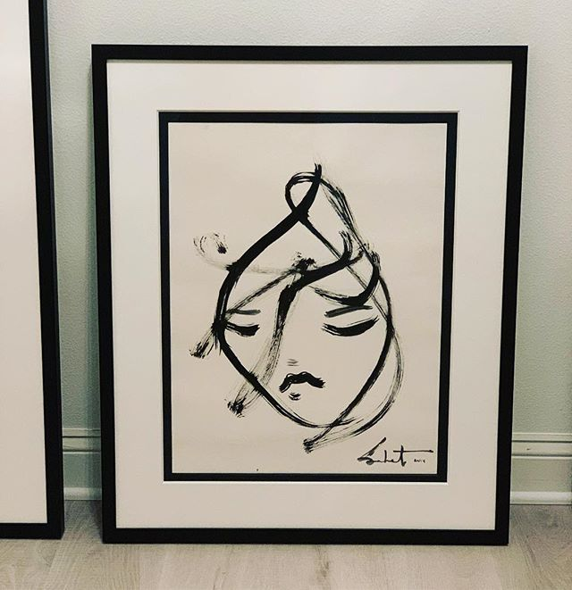 2014 Sabet original - so sweet to see this early Original Framed and not the home of our dearest friends: @srafi collection!