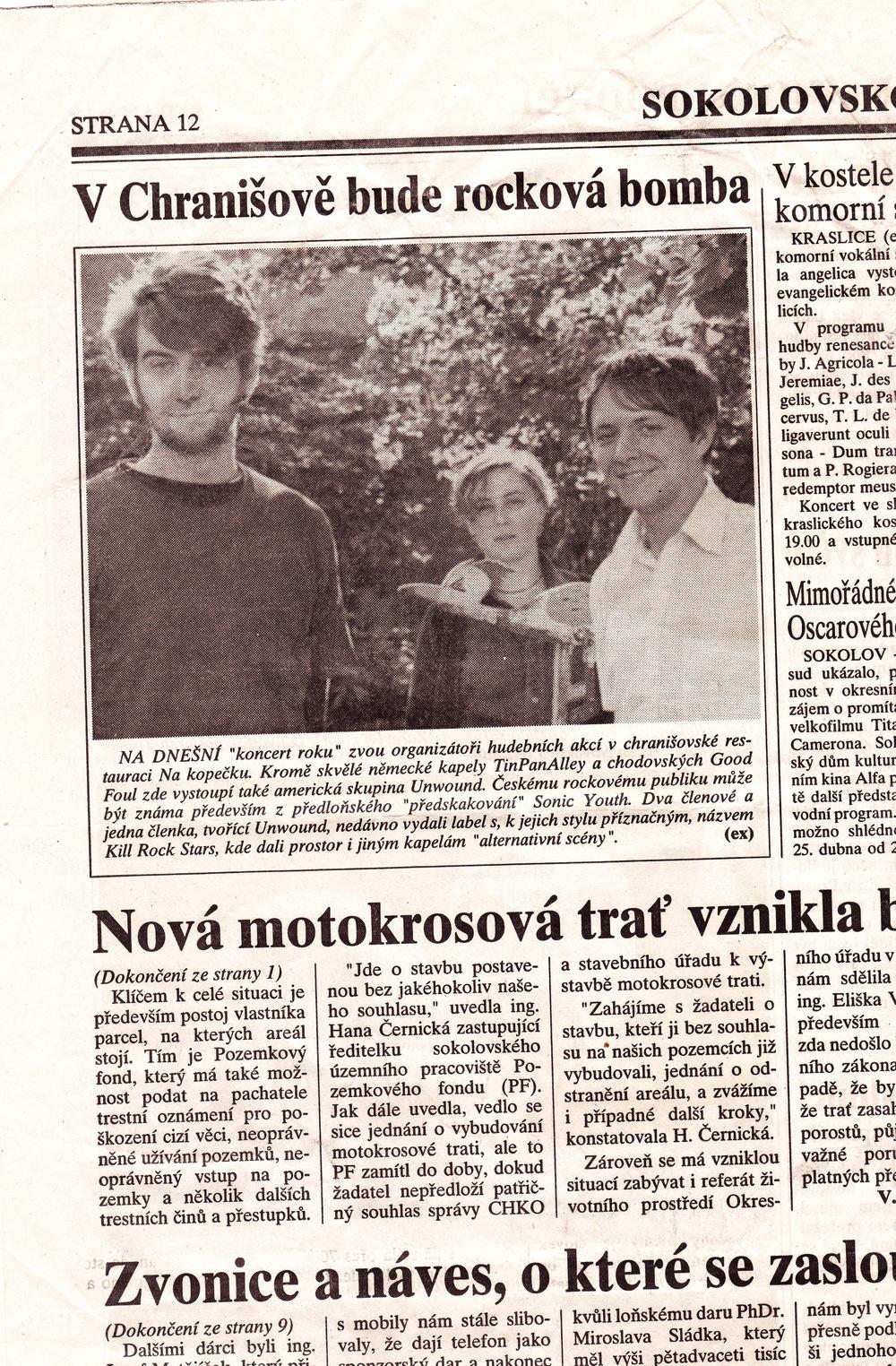 Czech show preview 1998