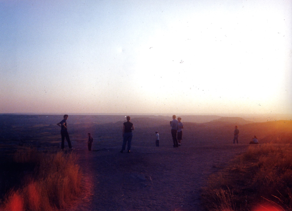 Badlands 1994. Learning to love the world.