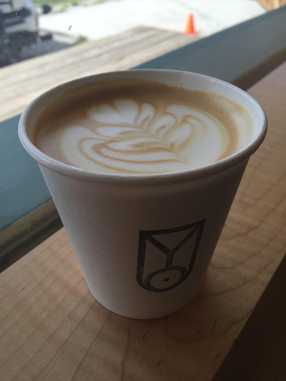 Fleet cappuccino.