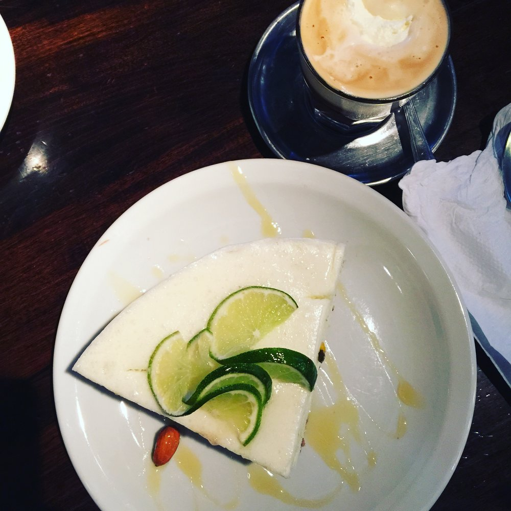 Go for the coffee, stay for the key lime pie.