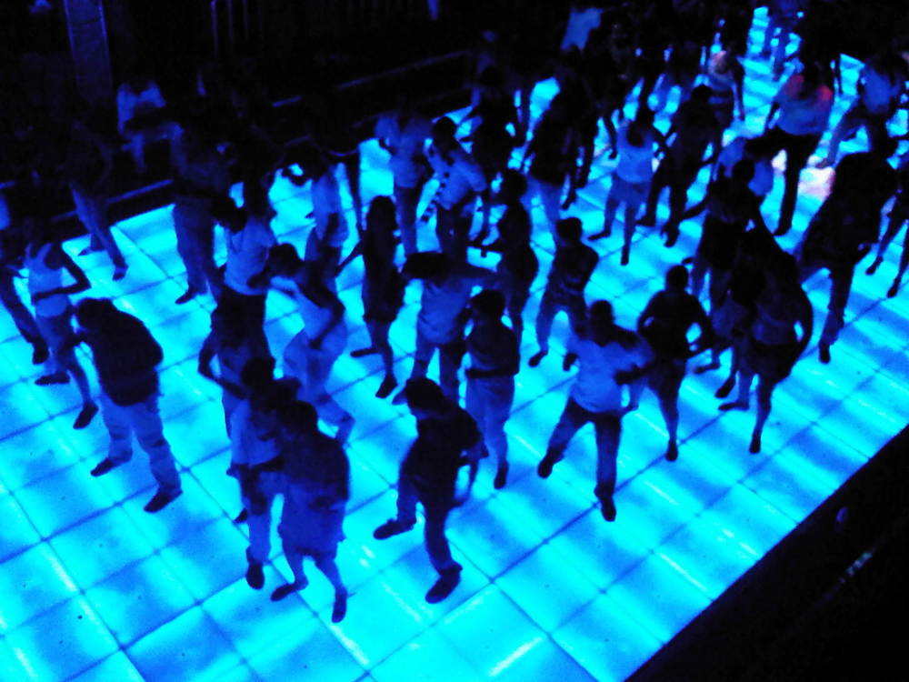 MOBILE DJs Lighted Dance Floor