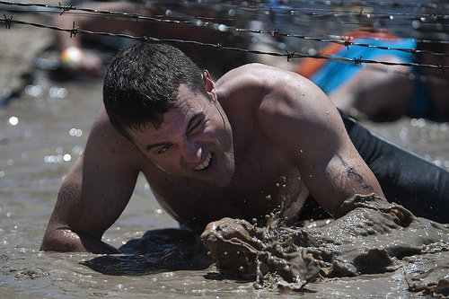 COMCAM Sailors Take On Tough Mudder