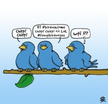 Funny Twitter Birds